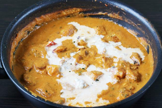 pour malai to make paneer tikka masala