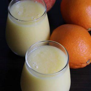 Apple orange smoothie recipe | How to make healthy orange smoothie