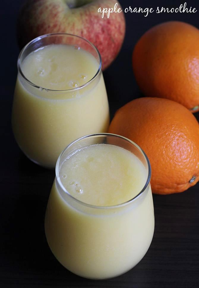 apple orange smoothie recipe