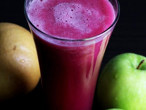 Beetroot apple smoothie - The best beetroot smoothie