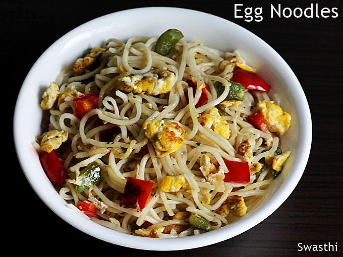 Egg Noodles Recipe How To Make Easy Egg Noodles In Chinese Style