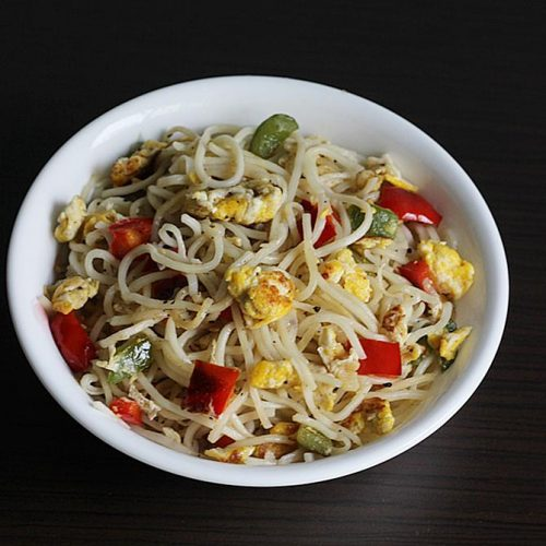 Egg noodles | How to make easy egg noodles in Chinese style