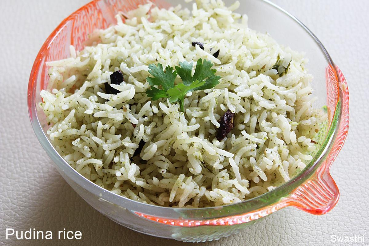 pudina rice