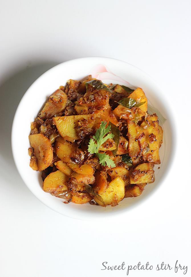 sweet potato stir fry recipe