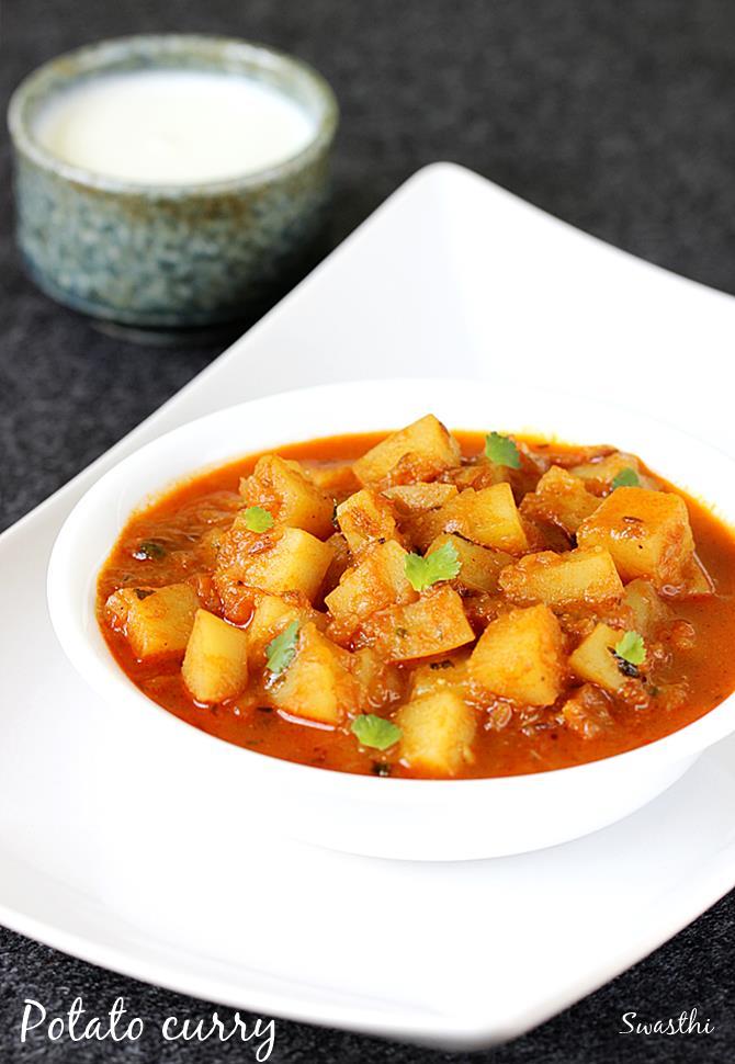 Potato Curry Recipes Aloo Curry How To Make Potato Curry