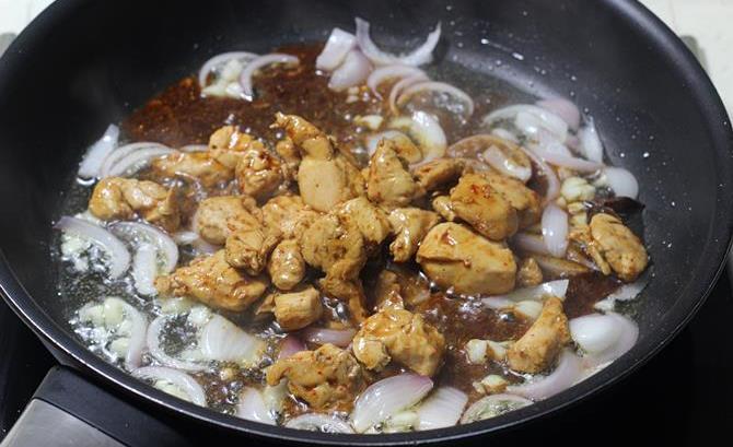 thicken sauce for chicken fried rice