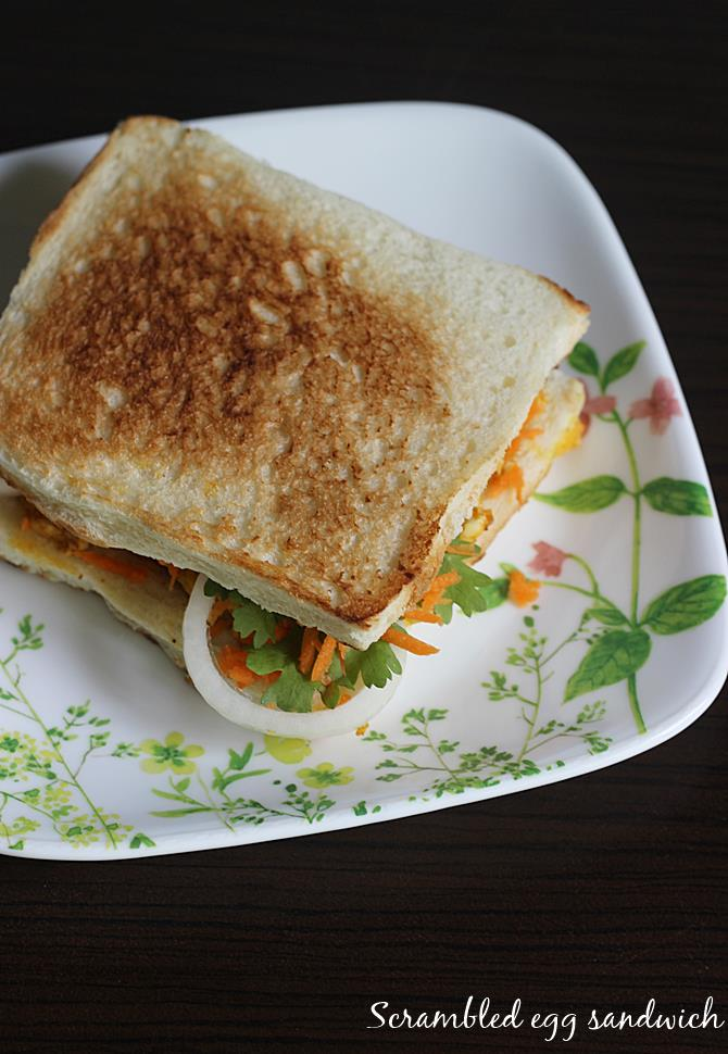 egg sandwich recipe bhurji sandwich