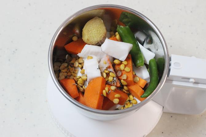 how to make carrot chutney