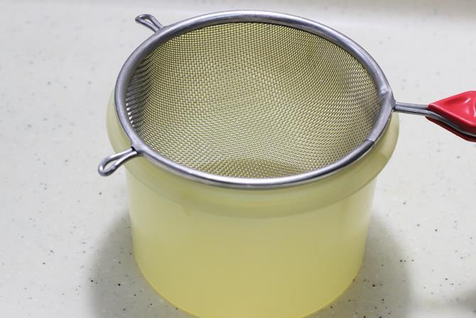 colander for hung curd