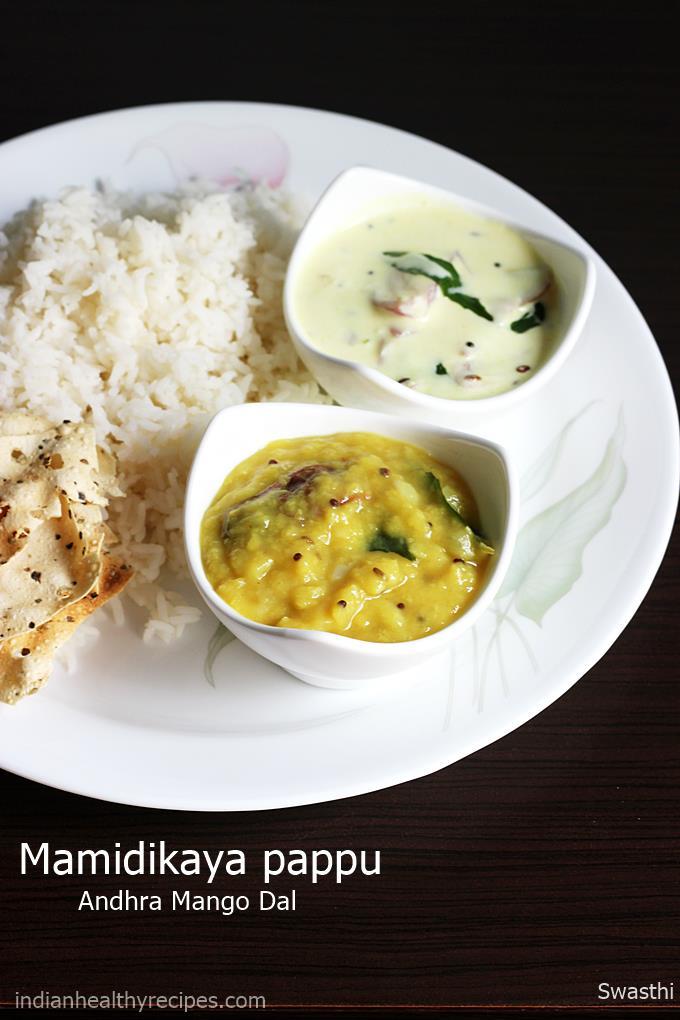 mamidikaya pappu mango dal