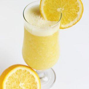 Orange banana smoothie recipe | How to make orange smoothie