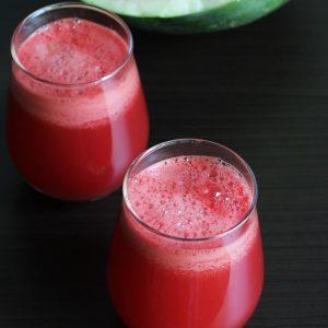 Watermelon juice recipe | How to make watermelon juice & health benefits