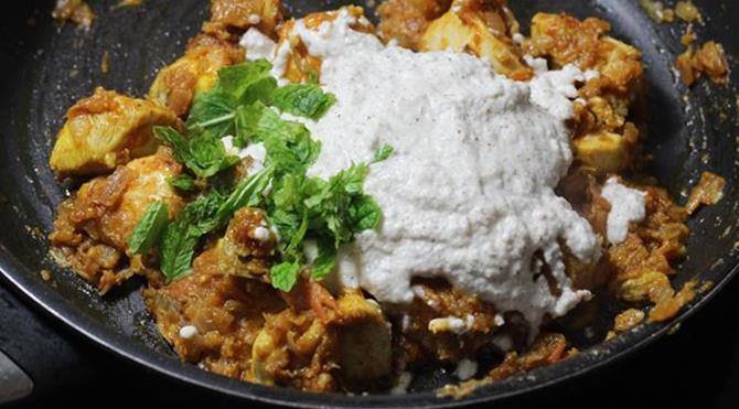 addition of poppy paste for chicken kurma recipe