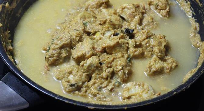 add water for chicken kurma recipe