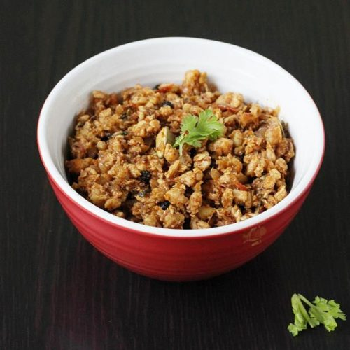 Chicken keema recipe (Chicken mince recipe)