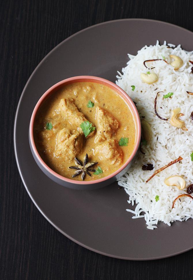 chicken kurma recipe swasthis recipes