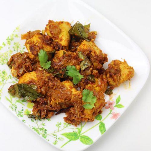 Chicken roast | Chicken dry recipe | South Indian chicken recipes