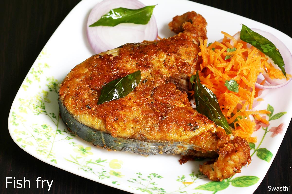 Fish fry recipe (Pan fried crispy fish)