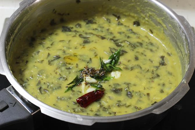 Delicious gongura pappu ready in minutes