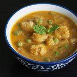 cauliflower kurma recipe, how to make cauliflower kurma recipe
