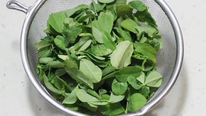 washing methi for paneer recipe