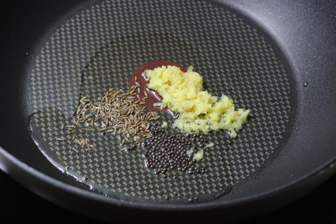 seasoning with spices