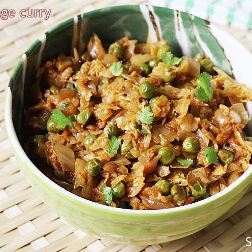 Cabbage Curry Recipe How To Make Cabbage Curry Recipe