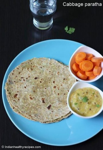 Cabbage paratha recipe | How to make cabbage paratha for kids