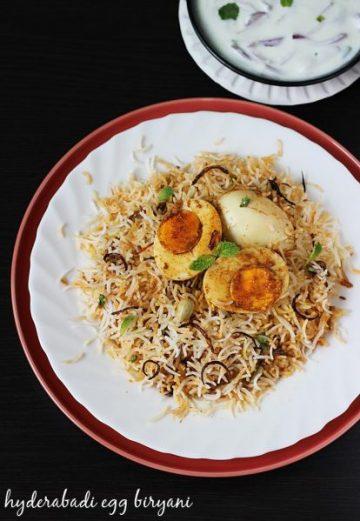 Hyderabadi egg dum biryani | Restaurant style anda biryani