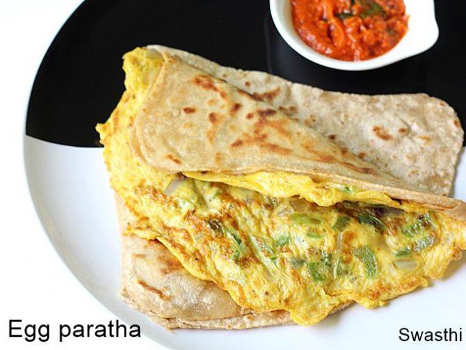 egg paratha