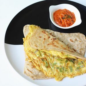 Egg paratha recipe | Anda paratha recipe | How to make egg paratha
