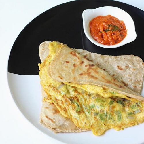 Egg paratha recipe | Anda paratha | How to make egg paratha