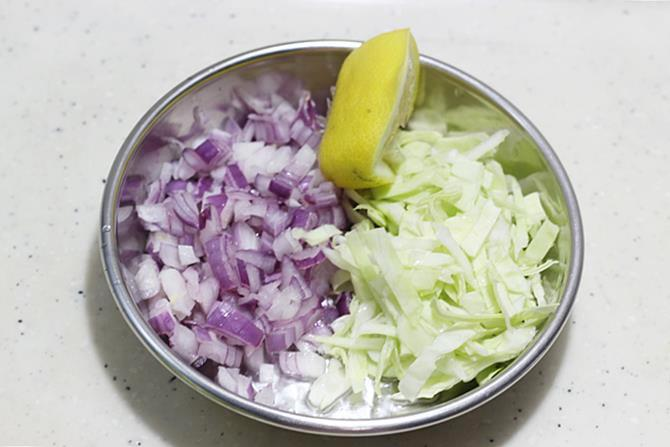 grated veggies for egg salad recipe
