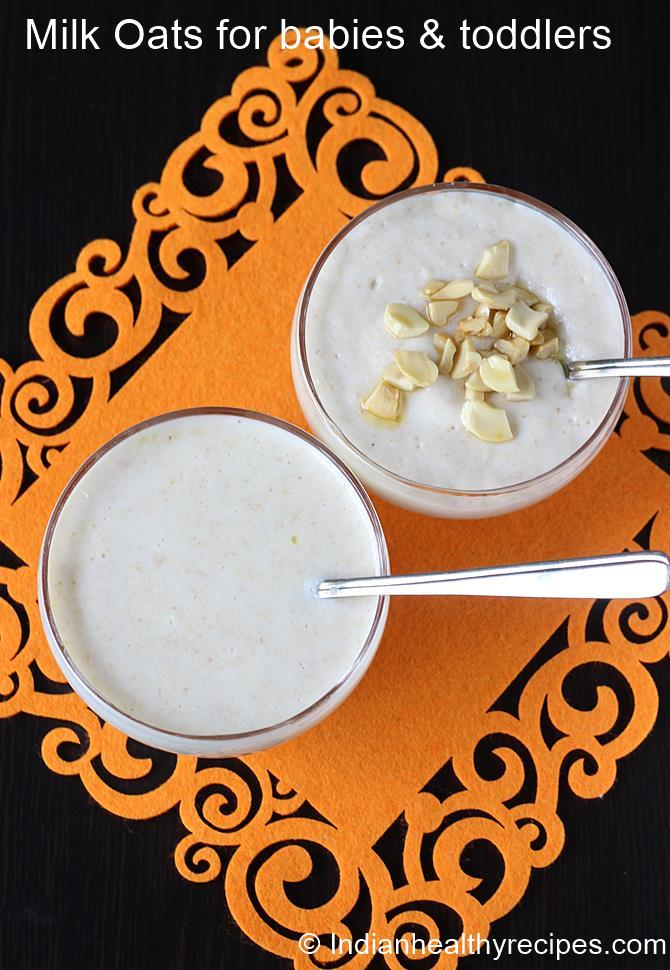 milk oats for babies swasthis recipes