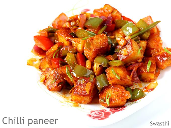 Chilli Paneer Recipe Video How To Make Chilli Paneer Dry Gravy