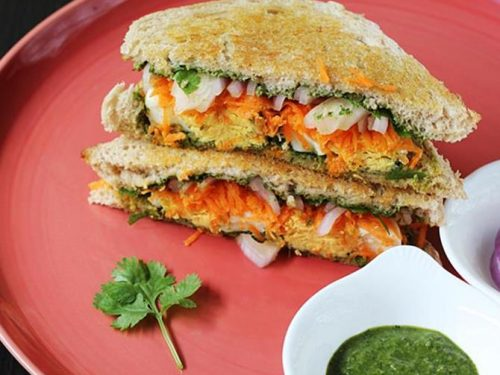 Chutney Egg Sandwich | Easy Egg sandwich recipes