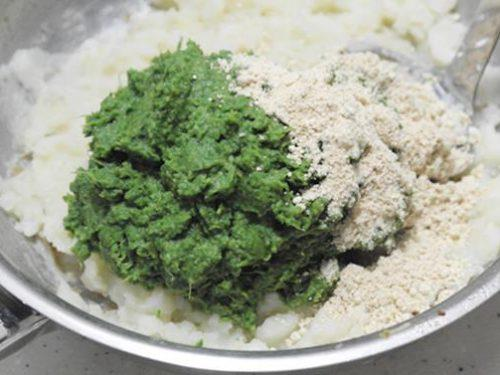 addition of flour for hara bhara kabab