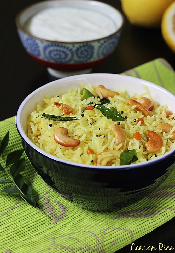 Lemon rice recipe video how to make south indian lemon rice recipe lemon rice recipe swasthis recipes forumfinder Image collections