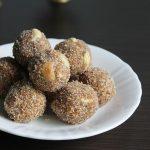 Aval laddu recipe | Poha ladoo recipe | Atukula laddu recipe