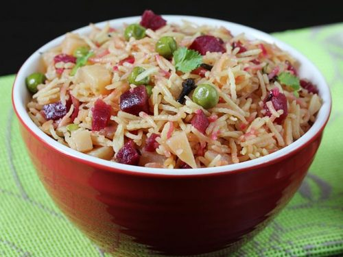 Beetroot rice recipe | Beetroot pulao | Beetroot recipe for kids