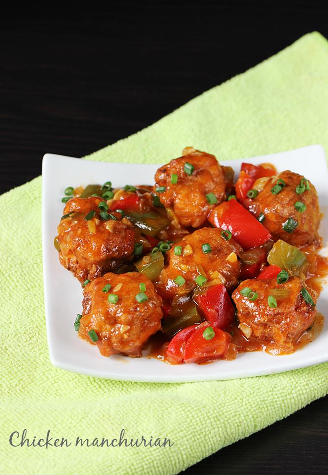 Chicken manchurian recipe how to make chicken manchurian recipe forumfinder Image collections