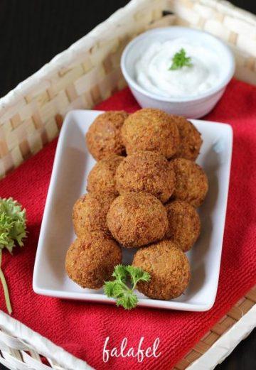 Falafel recipe | How to make falafel recipe | Chickpea falafel