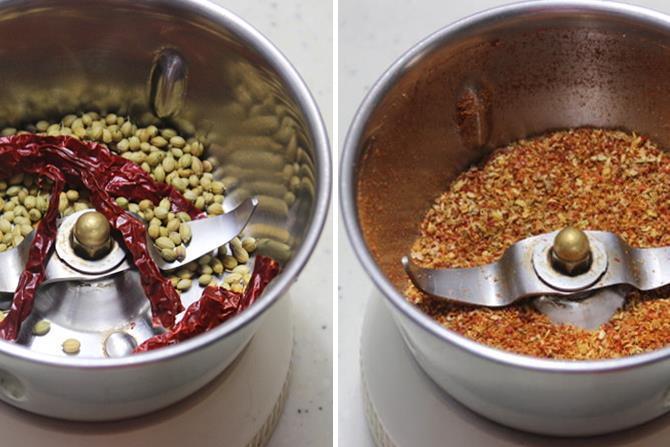 spice powder for kadai mushroom recipe