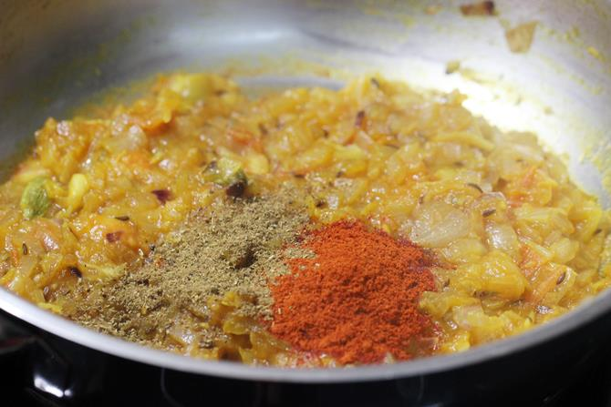 red chili powder for aloo egg curry