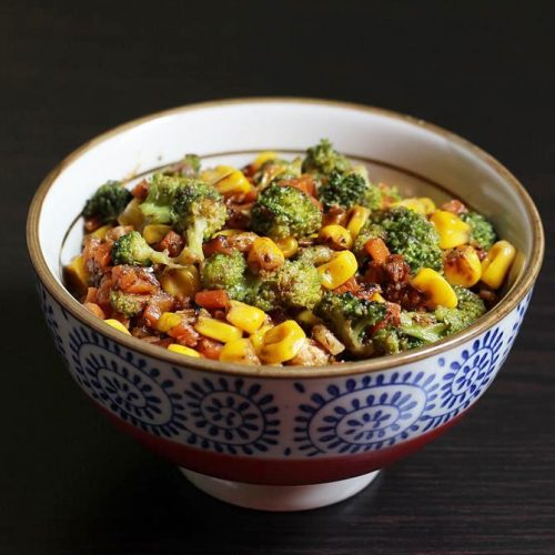 Broccoli corn recipe | Sweet corn broccoli stir fry | Broccoli recipes