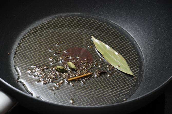 boil eggs saute spices to make egg keema recipe