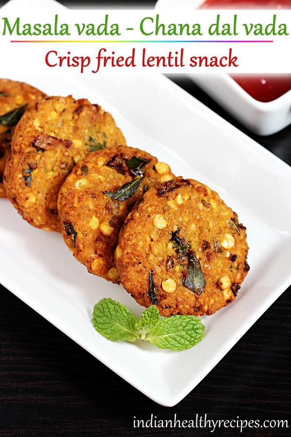 Masala vada recipe | South indian chana dal vada