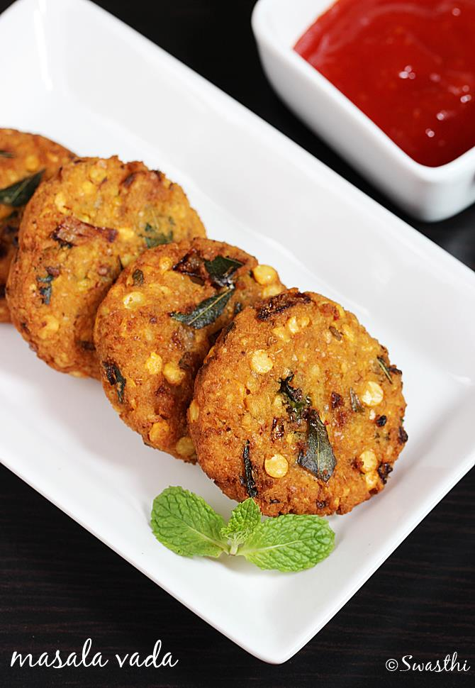 masala vada recipe chana dal vada
