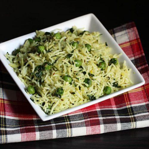 Methi rice recipe (Stovetop & instant pot)