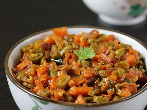 beans carrot curry
